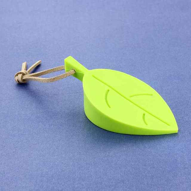 1 Pc Silicone Baby Safety Door Stopper Leaf Shape Stereo Hang Pinch-resistant Door Stopper Baby Hand Safe Products
