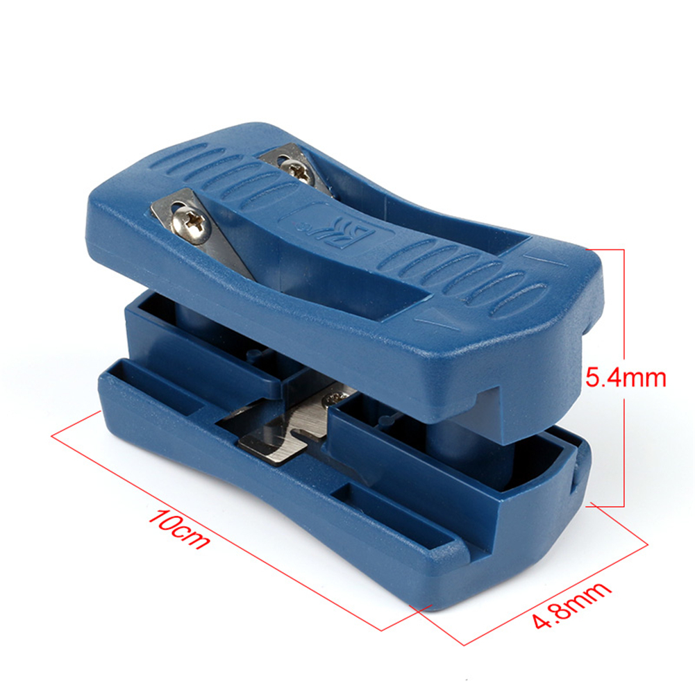 High Quality Manual-edge Trimmer Blue Double-edge Trimming Tools Woodworking-edge Cutter