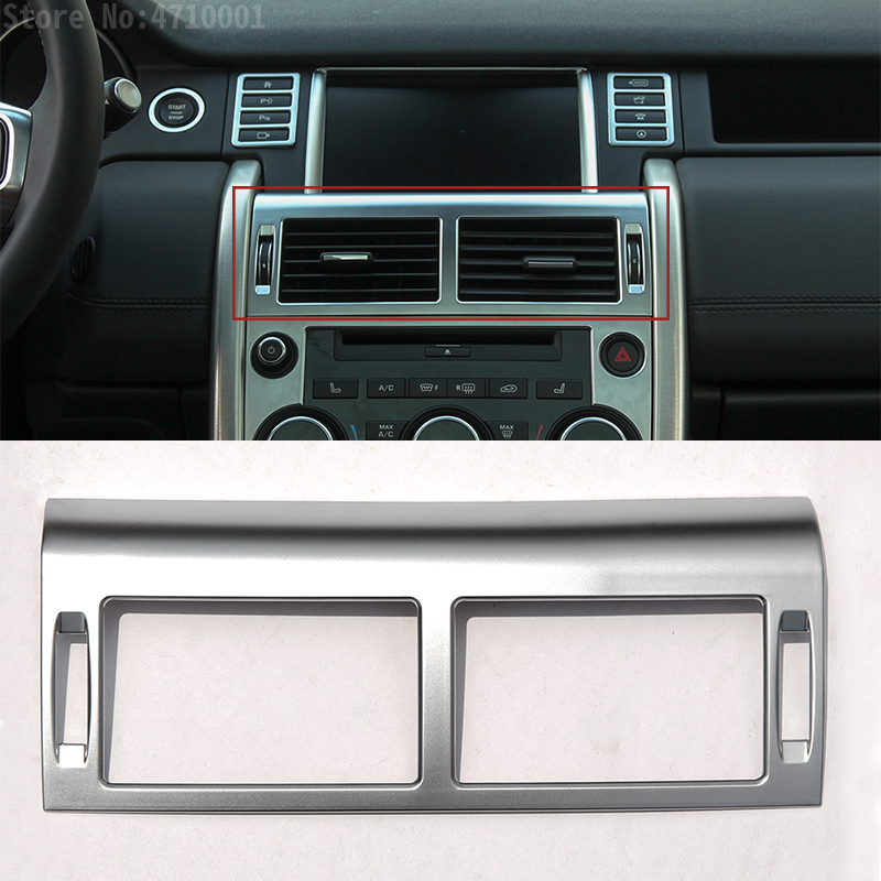 Car Center Console Dashboard Air Conditioning Outlet Vent Cover Trim for Land Rover Discovery Sport 2015 2017 Accessories