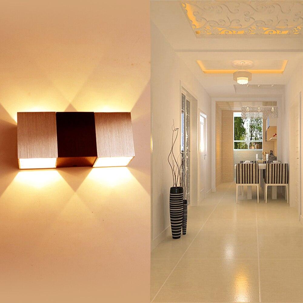 Platz Wandleuchte Wandleuchten Lampen 18675 Cm Aluminium Wohnzimmer Schlafzimmer Flur