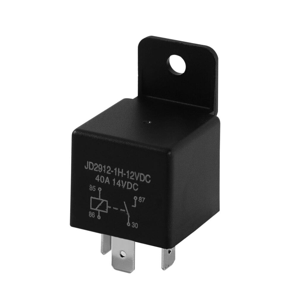 1 Pcs Dc 12v 40a Amp 4 Pin Changeover Relay Automotive Car