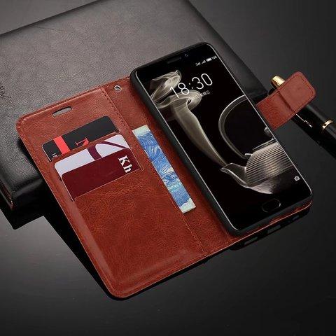 For Meizu Pro 7 Case Luxury Flip Wallet Leather Cover Cases For Meizu Pro 7 Plus Phone bag for Meizu Pro7 Plus covers Karachi