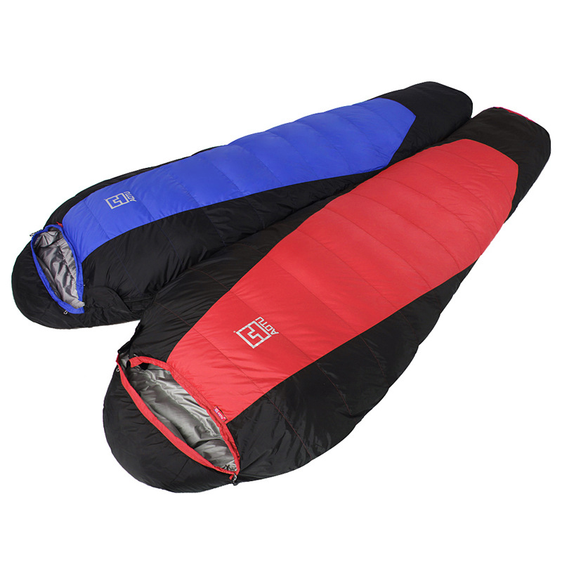 ultralight super warm sac de couchage duck down outdoor thickening camping sleeping bag