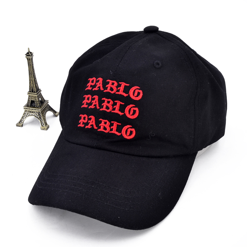 I Feel Like Pablo Red Hat Dad Baseball Cap Kanye West 350 boost TLOP men women Snapback hats
