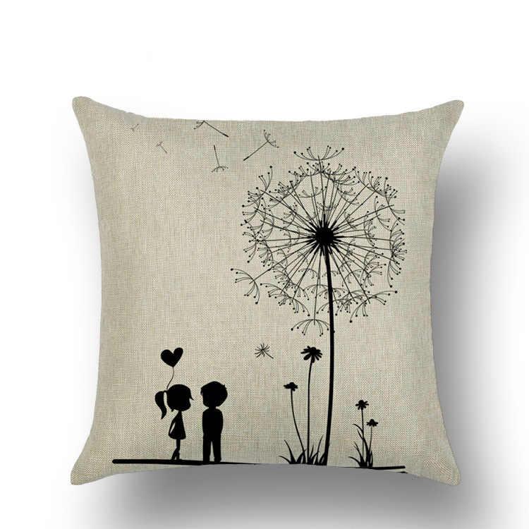 Льняные подушки на кровать, диван Woondecoratie Наволочка на подушку подушка подушки Чехол для стульев кушетка спальня декоративная