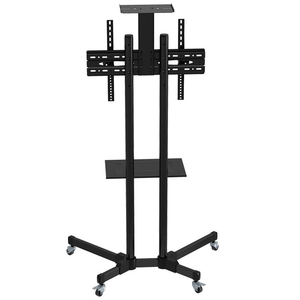"""Image 3 - Universal TV Cart Free Lifting 32"""" 65""""LED LCD Plasma TV Trolley Stand with Mobile Wheels and Adjustable AV Shelf Camera Holder"""