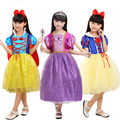 New Summer Girls Snow White Princess Dresses Kids Girls Halloween Party Christmas Cosplay Dresses Costume Children Girl Clothing