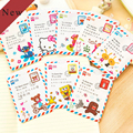 New Cute cartoon pattern Bank business Credit Card Holder the cover of the passport Case Wallet For Women Girl #GYD0203