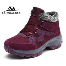 Купить с кэшбэком Women Winter Boots Shoes fashion Women Snow Boots Women Plus Hot Platform Winter Boots 2018winter boots size 12
