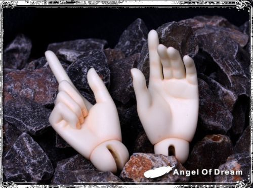 [wamami] AOD 1/3 SD Doll Male handsPair Hands Dollfie BJD Optimize hands [wamami] aod 1 4 bjd dollfie girl doll parts single head not include make up meng ya qi