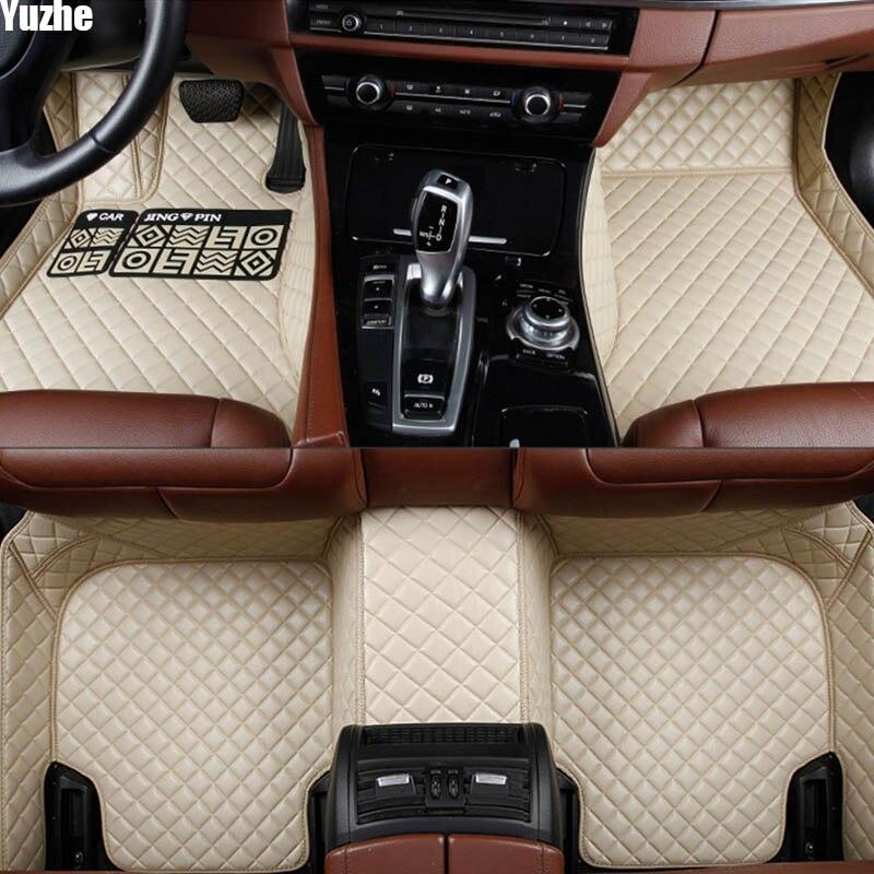 Tapis de sol Auto Yuzhe pour hyundai solaris santa fe creta tucson 2017 elantra tucson 2006 accent accessoires de voiture style