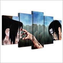 5 piece Naruto Canvas Art HD Print Wall Art
