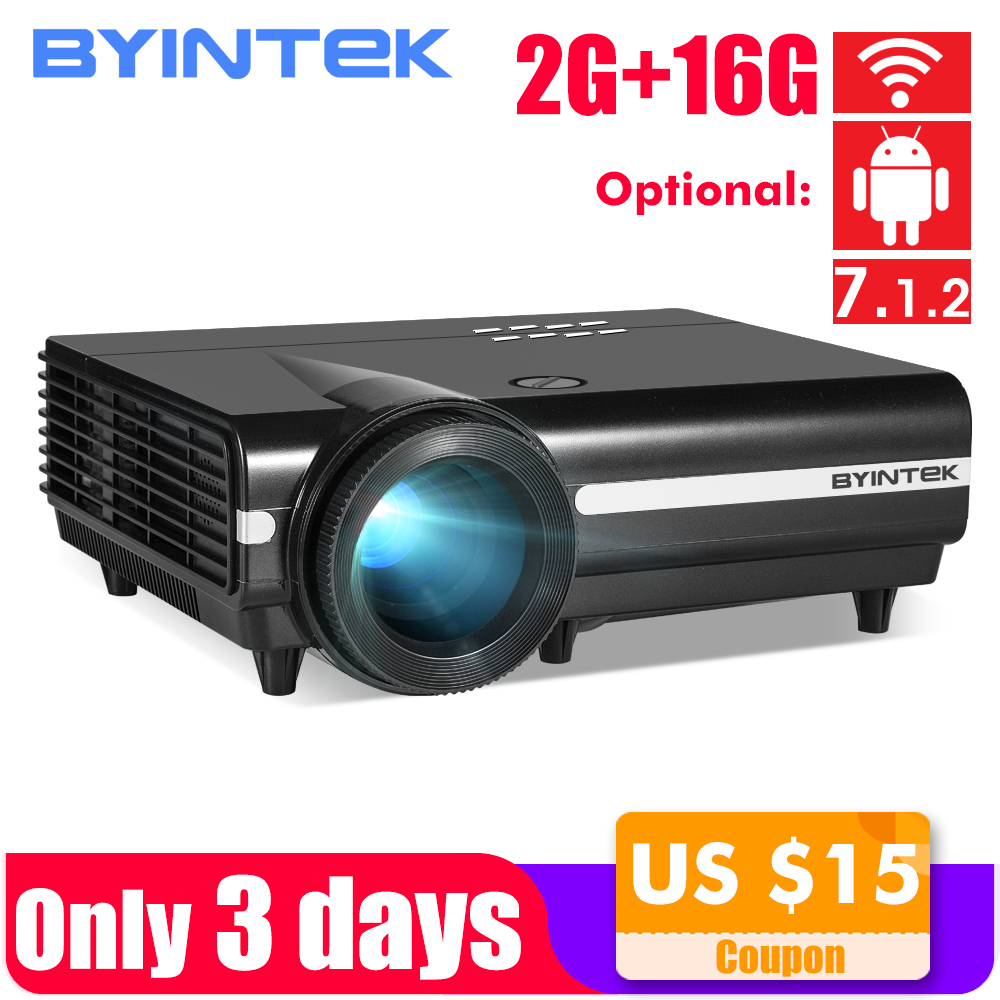 BYINTEK MOON BT96Plus Android Wifi Smart Video LED Projector Proyector For Home Theater Full HD 1080P Support 4K Online VideoBYINTEK MOON BT96Plus Android Wifi Smart Video LED Projector Proyector For Home Theater Full HD 1080P Support 4K Online Video