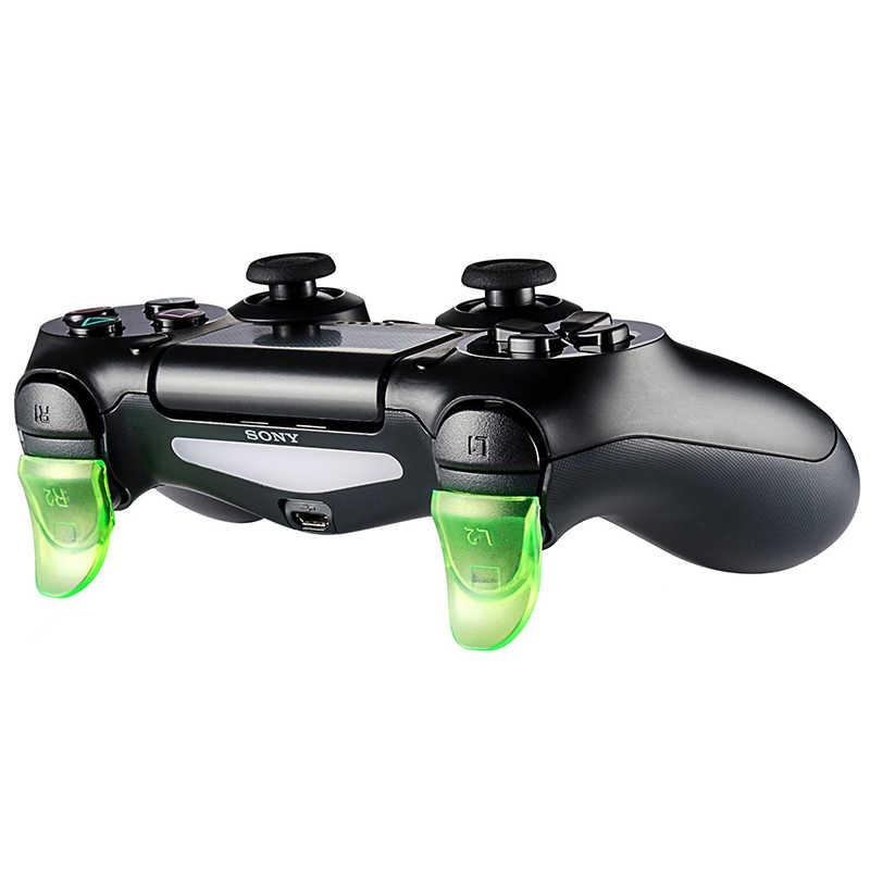 Данные лягушка 1 пара L2 R2 кнопки триггер расширители геймпад для playstation 4 PS4/PS4 Slim/Pro игровой контроллер аксессуары