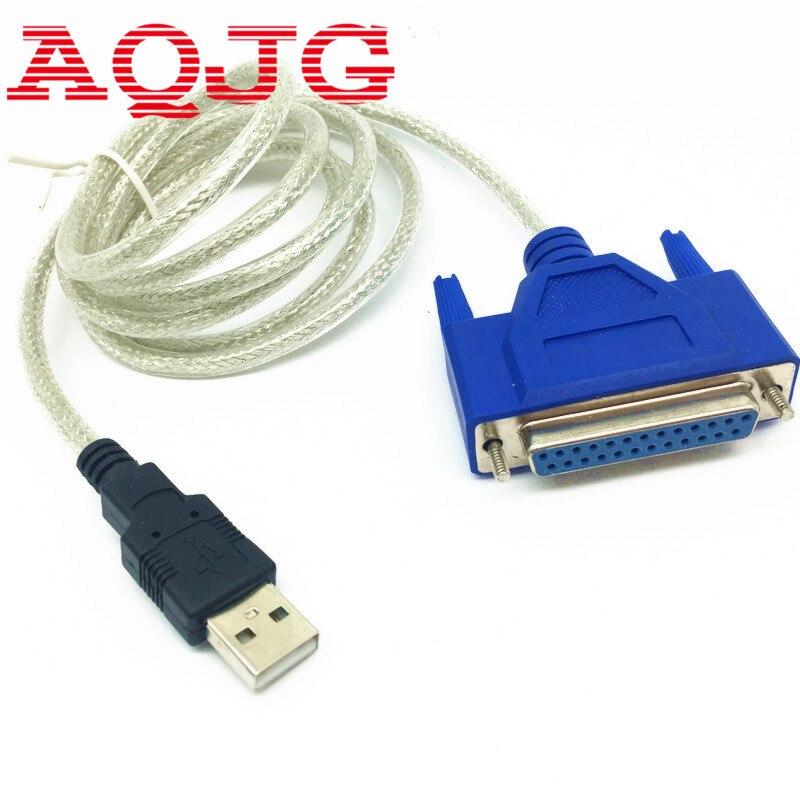 USB2.0 zu DB25 female Parallel Drucker LPT Kabel Adapter Neue C340 chipest großhandel AQJG