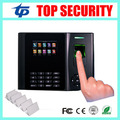 Free shipping biometric fingerprint time attendance time clock TCP/IP finger door access control system with MF card reader