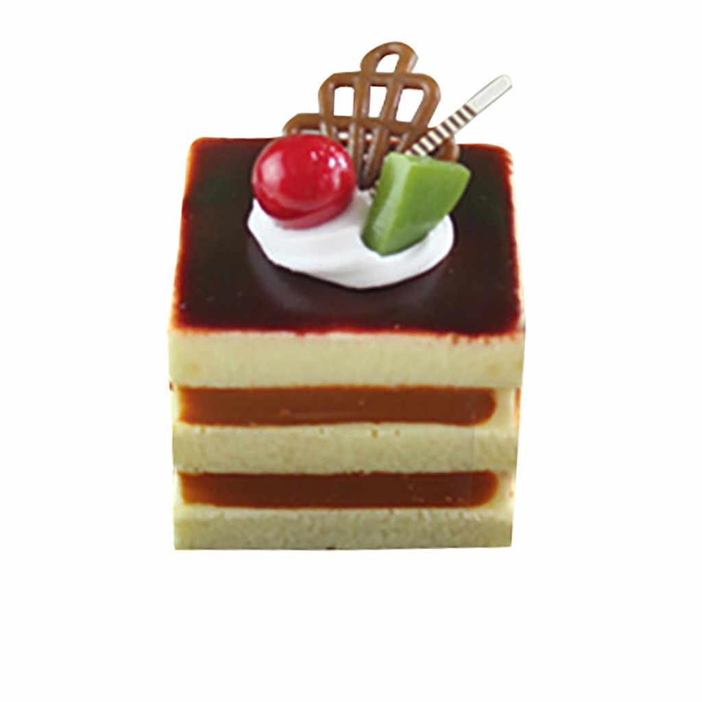 Kawaii dibujos animados pastel crema Squishy Jumbo lento aumento de hielo crema perfumada apretar pan pastel encantos Teléfono Straps antiestrés juguete