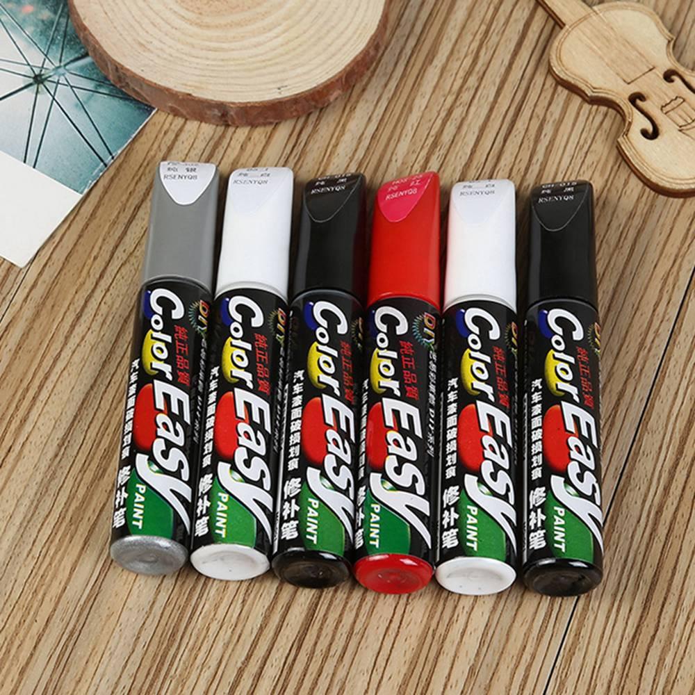 Universal 4 Colors Available Car Paint Scratch Repair Pen Automobiles Paint Care Maintenance Polishing Detailing Accessories