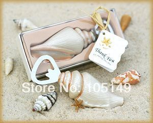 100 Pieces Lot Shore Memories Sea Shell Beach Wedding Favors For