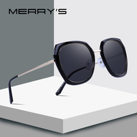 MERRYS DESIGN Women Brand Designer Sunglasses Fashion Polarized Sun Glasses Metal Temple 100% UV Protection S6216 Women's Glasses