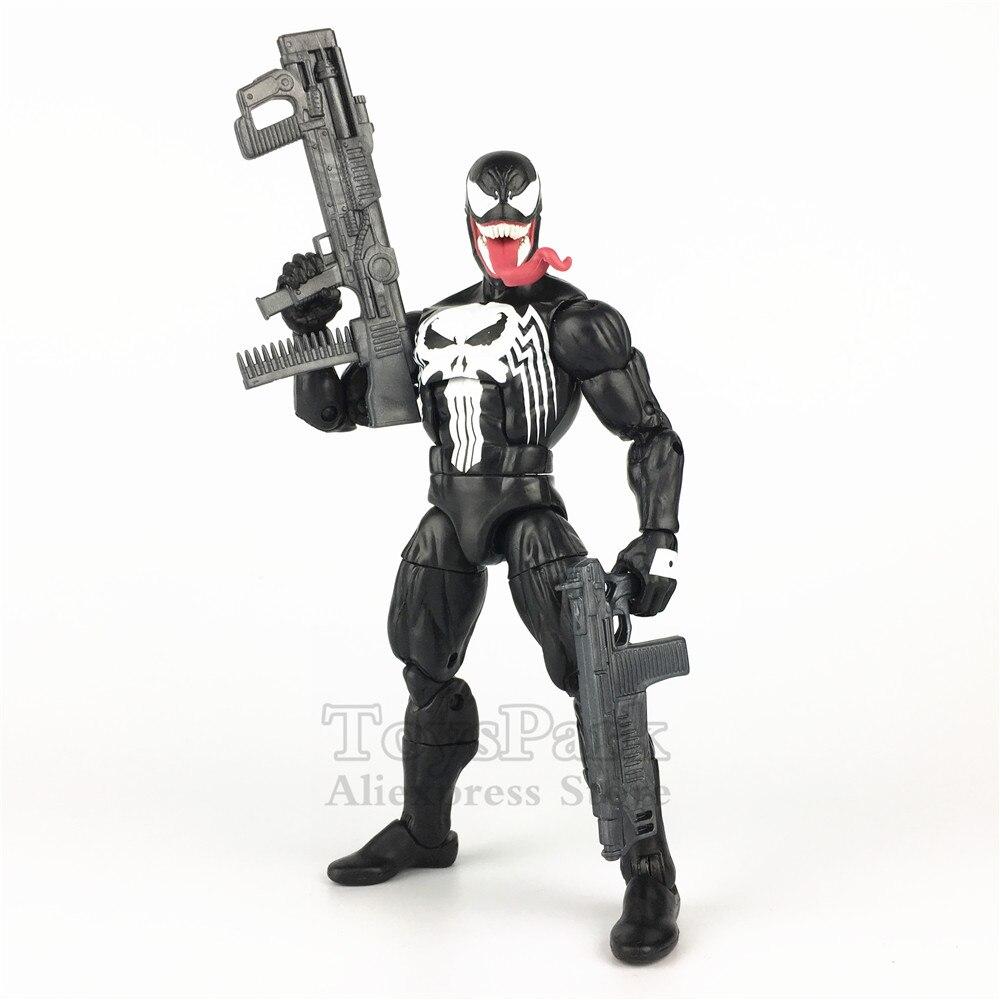 Marvel Legends Venomized Punisher 6 Frank Castle Venom Action Figure Marvel Unlimited reward 2019 Membership Kit