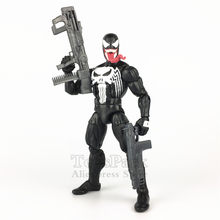 "Marvel Legends Punisher Venomized 6 ""Frank Castle Venom Action Figure Marvel Ilimitado recompensa 2019 Adesão Kit Boneca Brinquedos(China)"