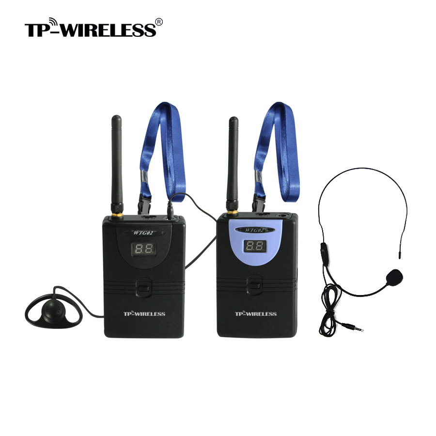 TP-Wireless Brand 2.4GHz Custom Digital Wireless Tour Guide Simultaneous Translation Presentation System 1transmitter Nreceivers dhl shipping atg100 portable mini meeting tourism teach microphone wireless tour guide system 1transmitter 15 receivers charger