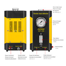 AUTOOL SDT-206 Car Smoke Machines For Sale For Cars Leak Locator Automotive Diag