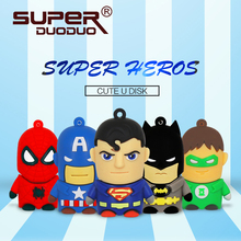 Superheroes pendrive 4GB 8GB 16GB usb flash drive 32GB 64GB Pen drive