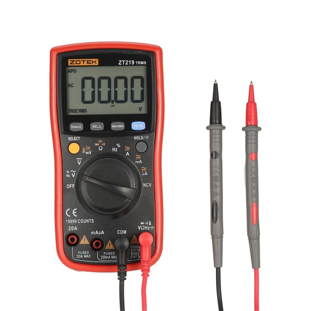 Digital Multimeter multimetro RM219 lcr analogico rm409b Transistor esr Ohm Meter Multimetre Capacitor digital Multites цена