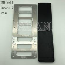 إصدار جديد 2.0 من قالب YMJ لهاتف iphone X ، قالب لاصق لاصق lcd TP مرن غير قابل للثني لهاتف iphone X