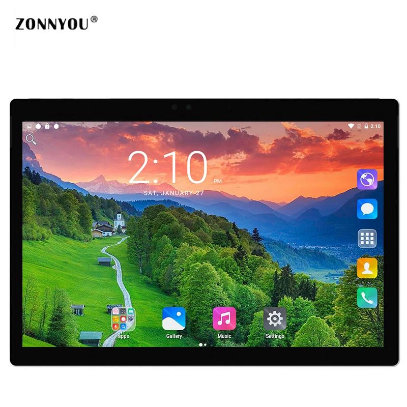 10.1 Tablet PC Android7.0 3G Appel OCTA core 4 GB/32 GB ROMBuilt-dans 3G, Bluetooth, Wifi GPS HD IPS Comprimés PC10/1 10 9