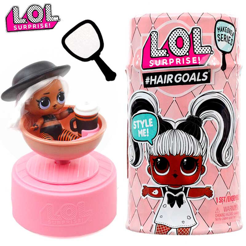 Original Lol Surprise poupée cinquième génération cheveux poupée LOL bébé balle 100% véritable jouets pour enfants cadeau