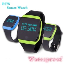NEW Brand E07S Waterproof Sport Smart Wristwatch Bracelet Smartband Bluetooth Music Pedometer Calorie Monitor Health Track Watch