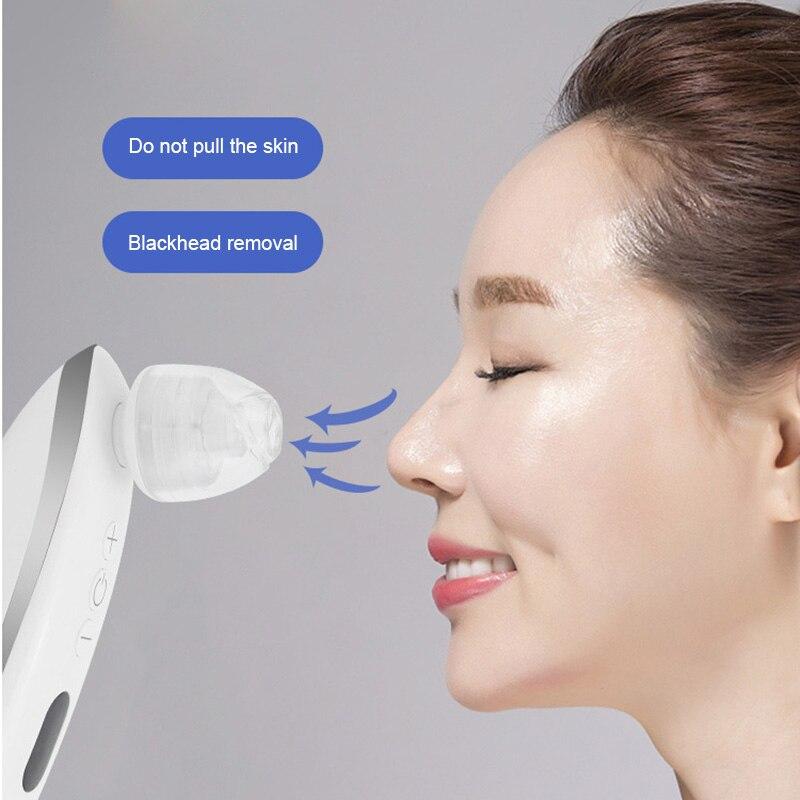 Comédons USB Rechargeable Instrument de Nettoyage Du Visage pour homme femme HS11