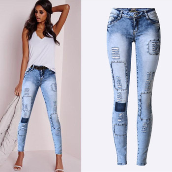 fashion jeans pants for women - Size 34 to 44 3