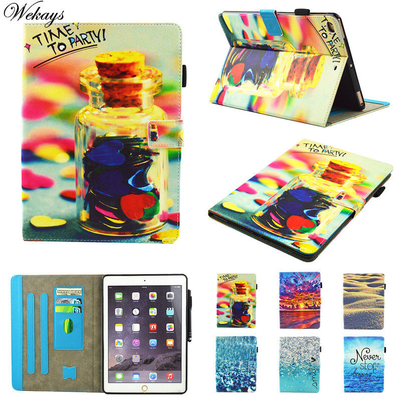 Wekays Case sFor Coque Apple IPad Mini 1 2 3 7.9 Leather Smart Flip Fundas Case For IPad Mini1 Mini2 Mini3 Tablet Cover Cases