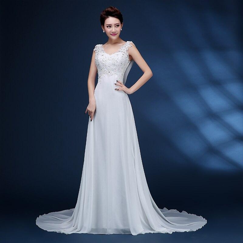 Zj9054 High Quality Knee Length White Ivory Wedding Dresses For