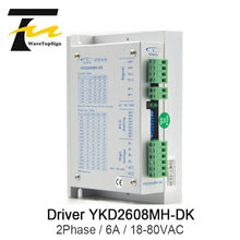 YAKO 2phase Stepper Motor Driver YKD2608MH-DK Match With NEMA23 NEMA34 Use For CNC Router Engraving Machine(China)