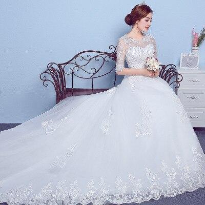 Mais Barato Tamanho Personalizado Vestido De Casamento