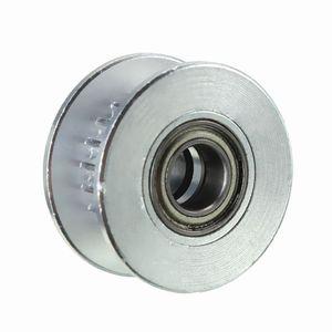 Image 2 - 3 шт. в диаметре 20т 5 мм отверстие 6 мм GT2 Ремень Гладкий направляющий ролик с подшипником для 3D принтера