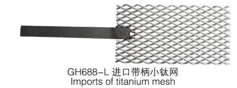 Free Shipping Platinum Titanium Mesh For Rectifier Machine plating