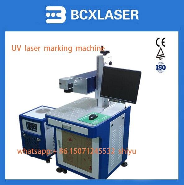 Factory direct violet UV laser marking machine UV data line plastic glass QR code laser marking machine