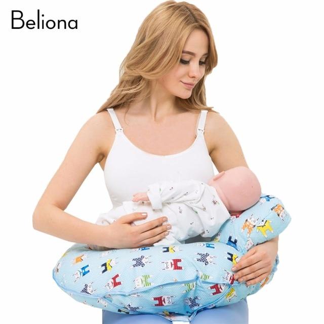 Veilig Borstvoeding Kussen Comfortabele Pasgeboren Baby Kussen Mum