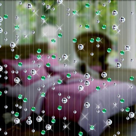 Tenda di perline di vetro di Cristallo di modo Decorazione Della Casa Coperta di Lusso sfondo di Nozze Decorazione forniture