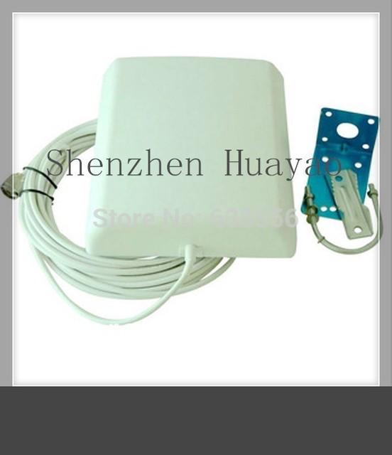 3.5 GHz antena panel de polarización única al aire libre con 5 m cable