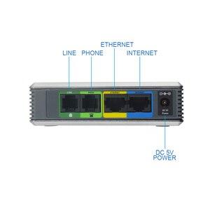Image 5 - Freies Verschiffen! Entsperrt LINKSYS SPA3102 VOIP internet adapter 1FXO 1 FXS voice over IP Vorwärts Anrufe zu VoIP service
