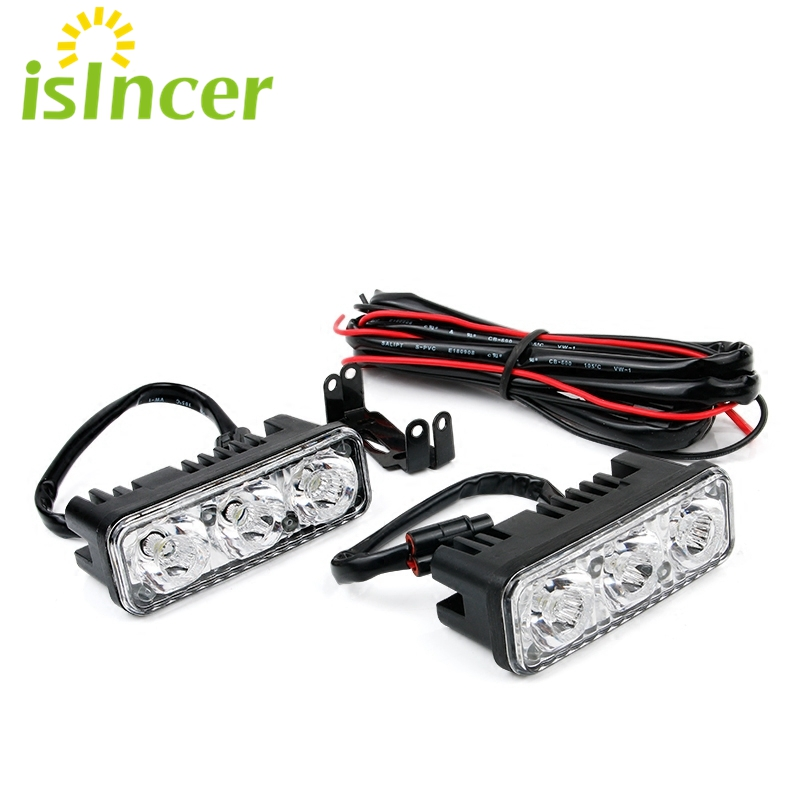 Car-styling DRL LED Daytime Running Light Car Running Lamp for Toyota Corolla Fog Lamp Flexible Day Running Light for BMW e46 leadtops led daytime running light 2pcs 100% cob chip led diy drl fog car lights car day lamp 12v for audi vw toyota mazda be