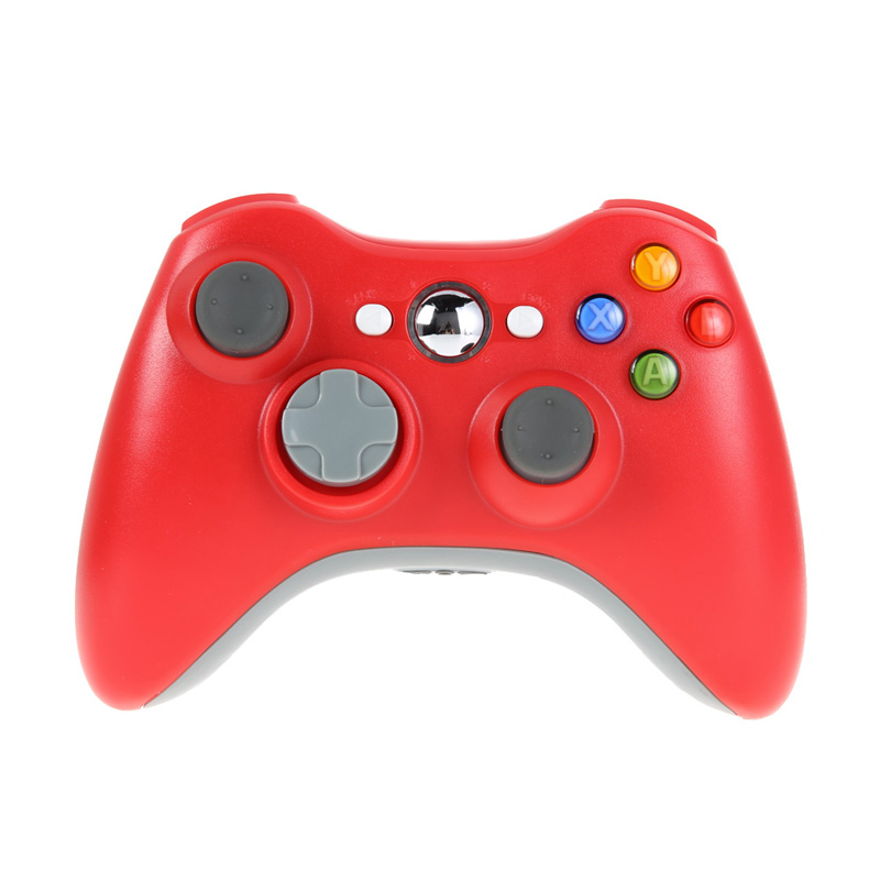 Red 2 4G Wireless Gamepad Joypad Game Remote Controller Joystick With Pc Reciever For Microsoft For