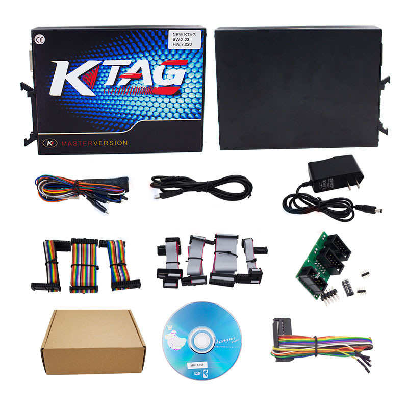 Newest V7.020 KTAG V2.23 No Token Limited ECU chip programmer K-tag 7.020 master version ECU Chip Tuning Tool 2017 online ktag v7 020 kess v2 v5 017 v2 23 no token limit k tag 7 020 7020 chip tuning kess 5 017 k tag ecu programming tool